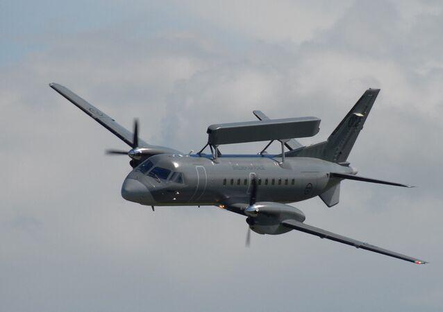 Avion de surveillance suédois Saab-340