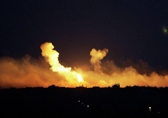 Explosions à Gaza (archives)