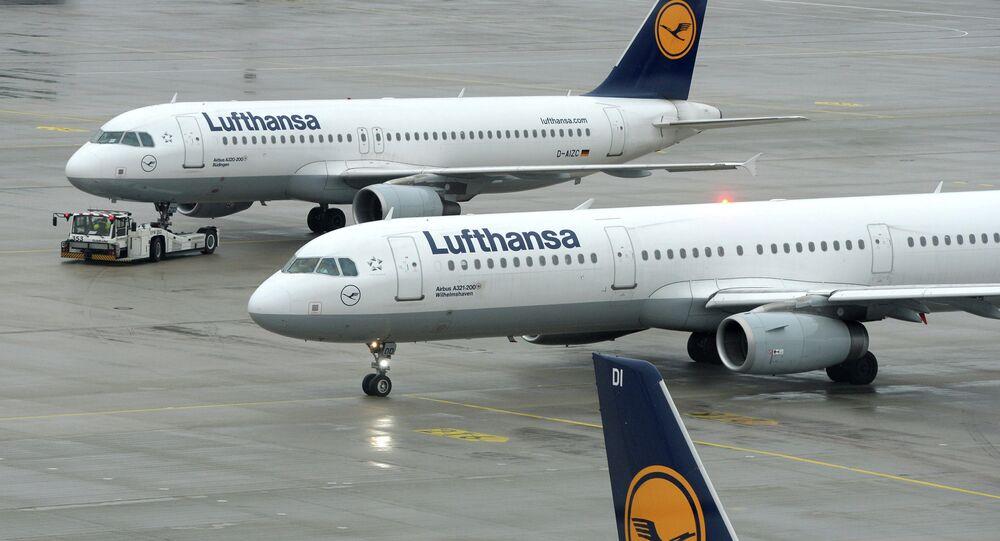 La compagnie aérienne Lufthansa