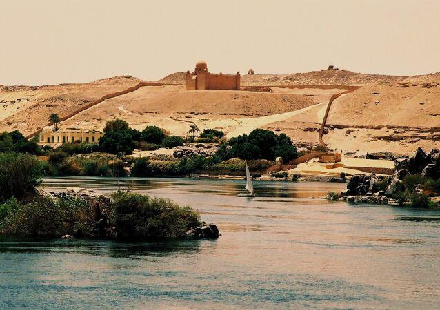 Mausolée de l'Aga Khan à Assouan