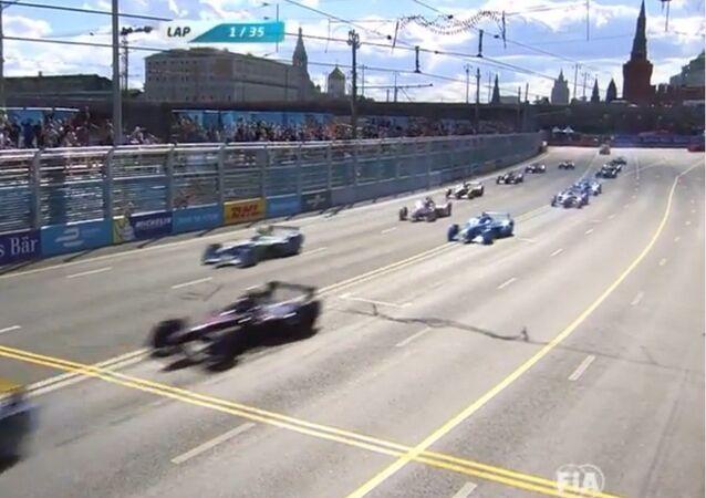 Formule E au centre de Moscou