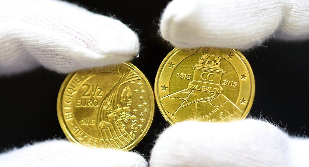des pièces d'une valeur faciale de 2,5 euros