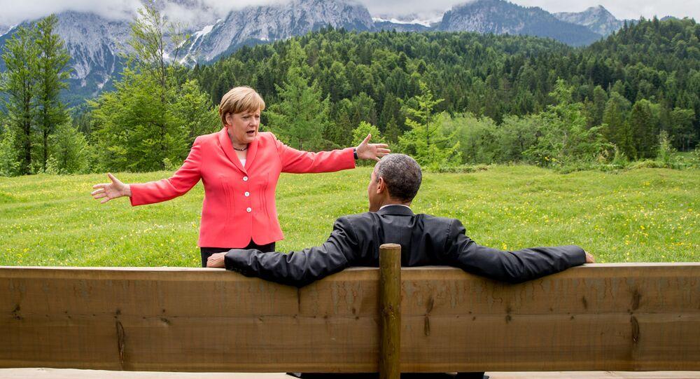 Obama et Merkel