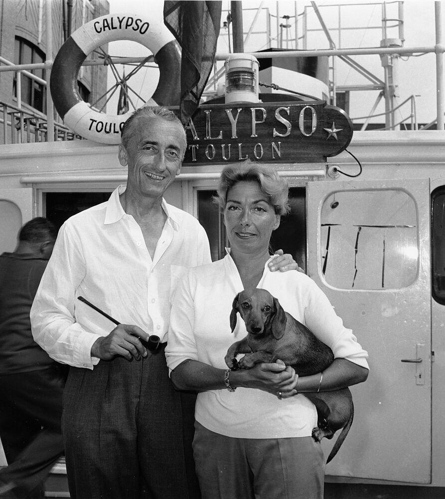Jacques-Yves Cousteau, homme qui a fait découvrir le Monde du silence