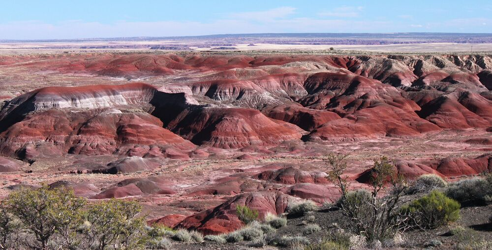 Painted Desert (Arizona, USA)