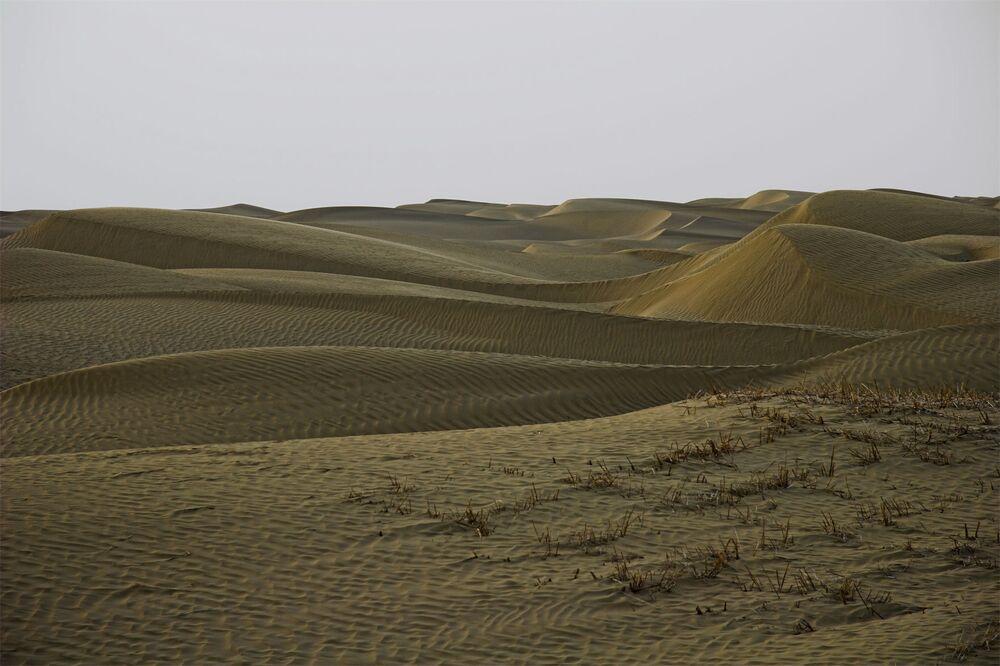 Le désert Taklamakan