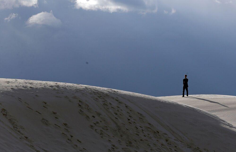 Le désert White Sands