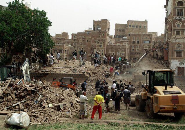 Yémen: la coalition frappe la vieille ville de Sanaa, protégée par l'Unesco