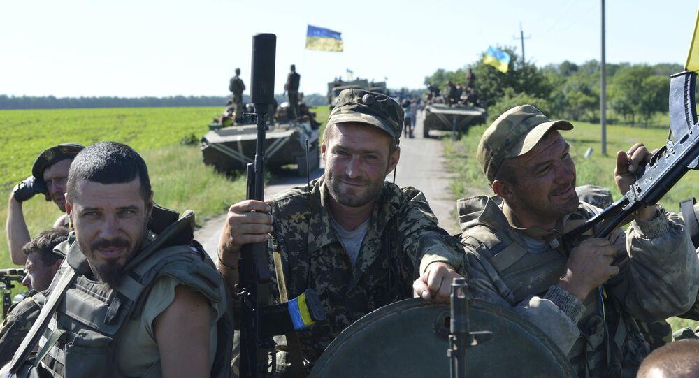 Militaires ukrainiens, Juin 9, 2015.