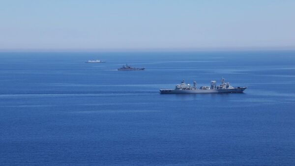 Russian-Chinese drills Joint Sea-2015 in the Mediterranean - Sputnik France