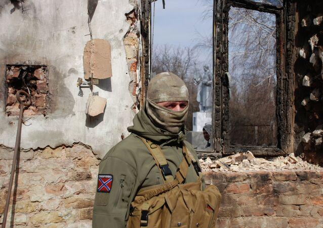 Situation dans la zone de Donetsk