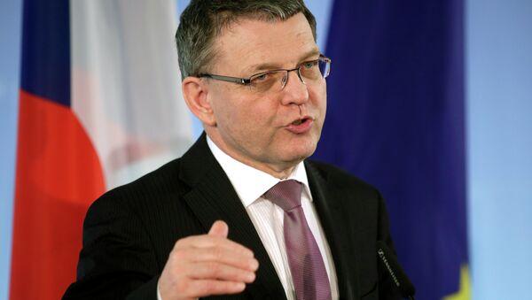 Lubomir Zaoralek, ministre des Affaires étrangères de la République tchèque - Sputnik France