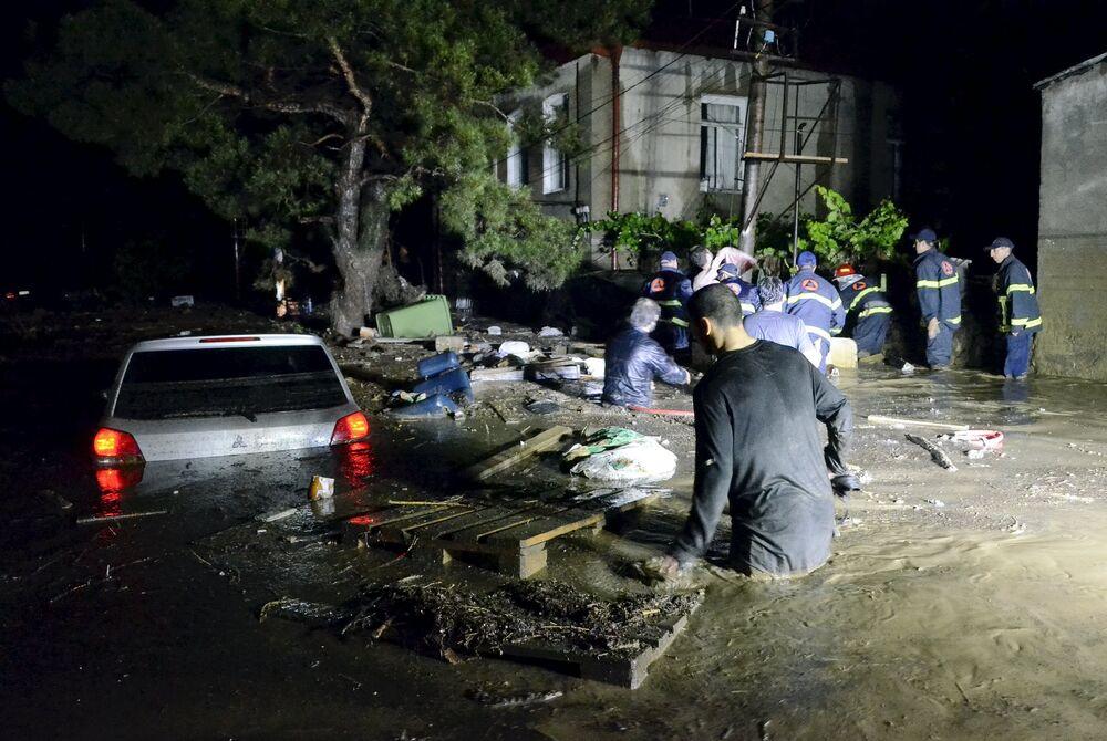 Tbilissi sous les eaux