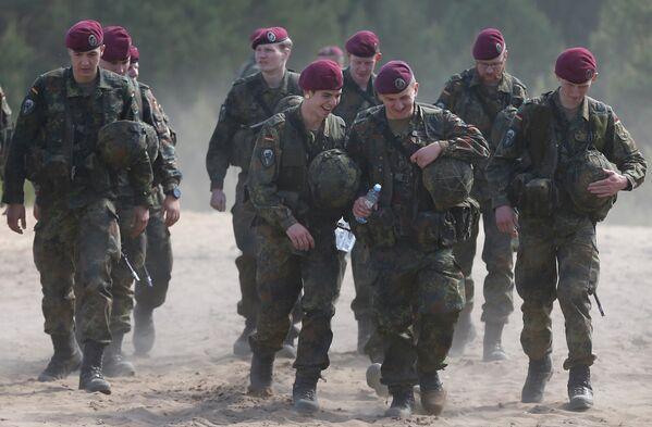 Otan: l'exercice militaire Saber Strike-2015 - Sputnik France
