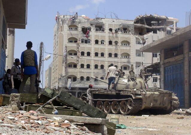 Situation à Aden, dans le sud du Yémen