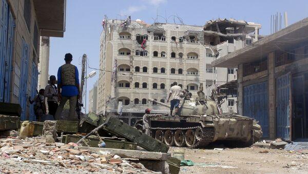Situation à Aden, dans le sud du Yémen - Sputnik France