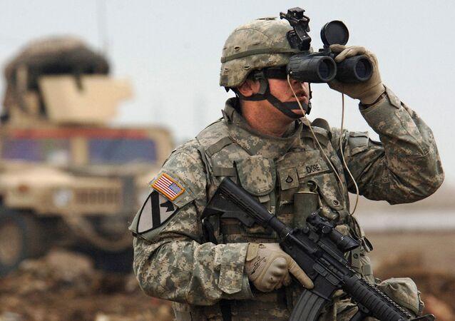Soldat des forces armées des États-Unis