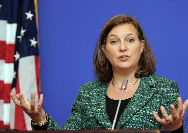 La secrétaire d'Etat adjointe pour l'Europe Victoira Nuland