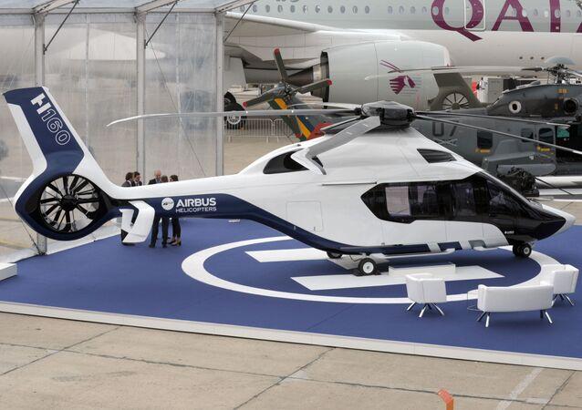 Hélicoptère Airbus H160 au Salon du Bourget