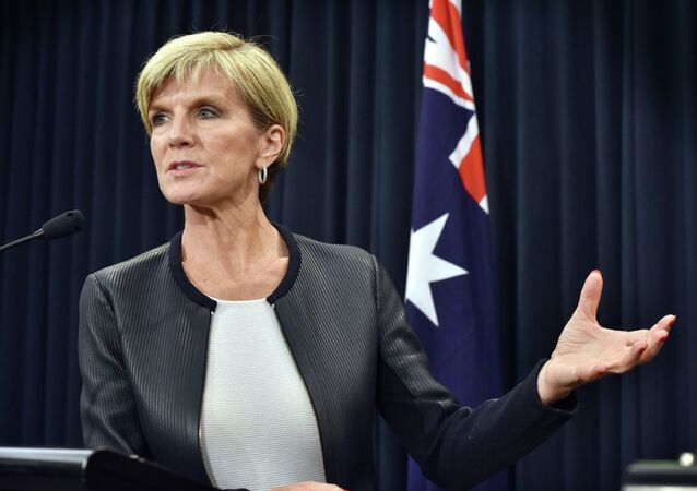 La chef de la diplomatie australienne, Julie Bishop