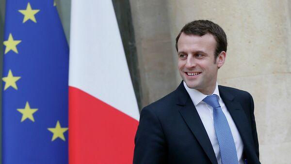 Emmanuel Macron, ministre français de l'Economie, de l'Industrie et du Numérique - Sputnik France