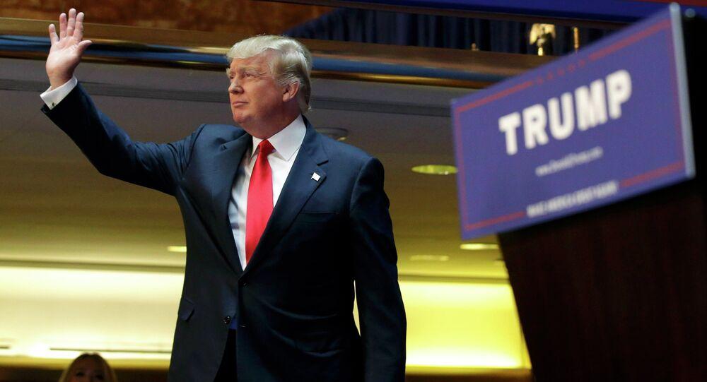 Le milliardaire Donald Trump