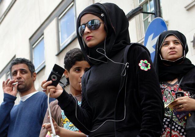 Les musulmans, Londres