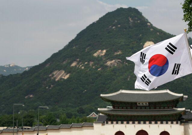 le drapeau sud-coréen