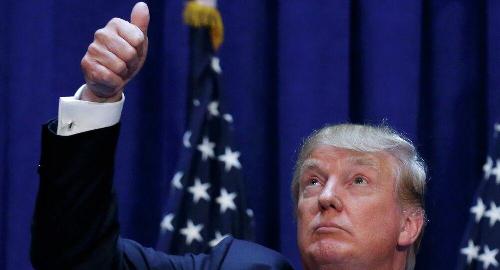Donald Trump, candidat républicain à la Maison Blanche