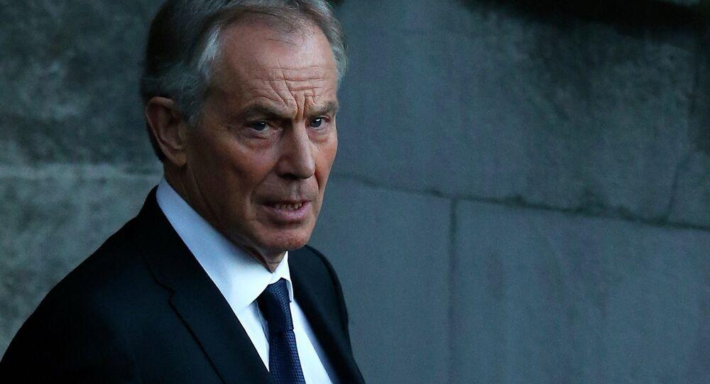 Ex-premier ministre britannique Tony Blair
