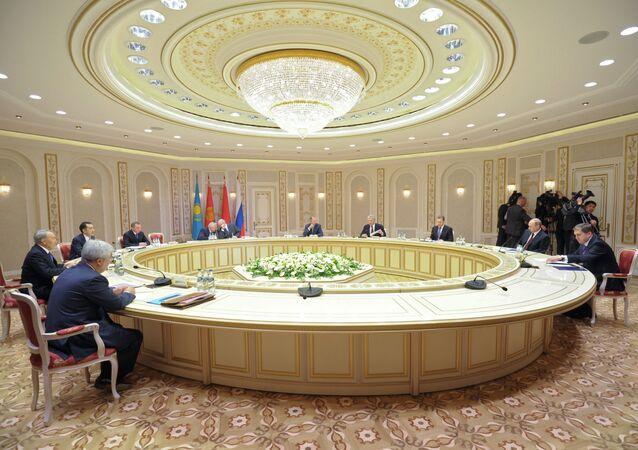 Union économique eurasiatique. Archive photo