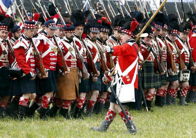 Célébration du bicentenaire de la Bataille de Waterloo