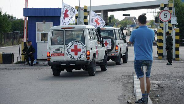 Cars of the International Red Cross. (File). - Sputnik France