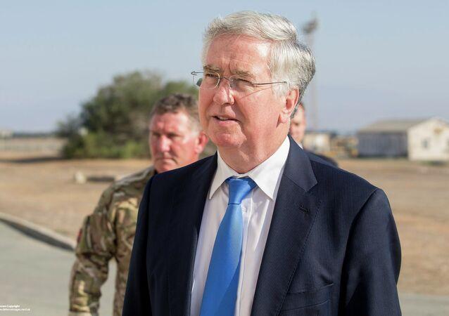 Michael Fallon, ministre britannique de la Défense