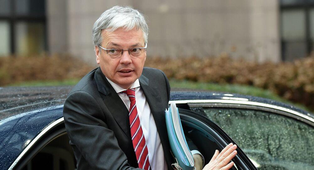 Didier Reynders, ministre belge des Affaires étrangères