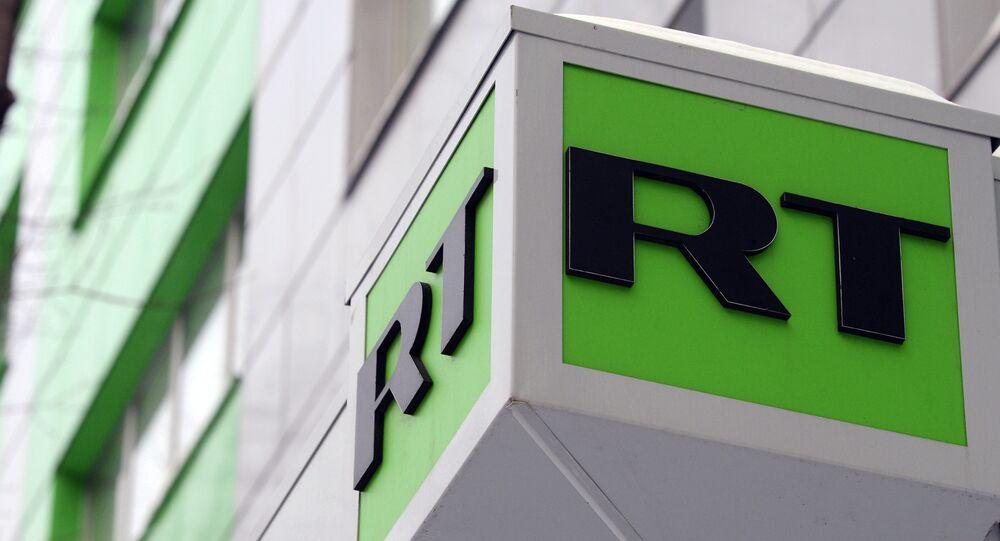 Logo du média RT