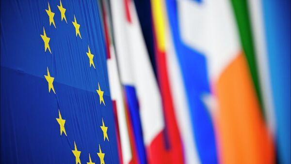 Drapeaux des pays membres de l'UE, Strasbourg - Sputnik France