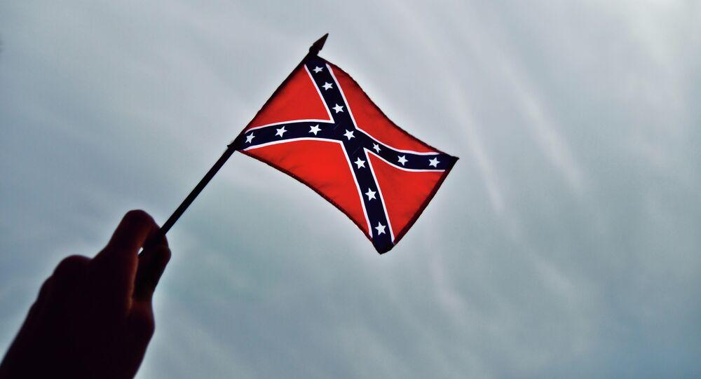 Le drapeau confédéré