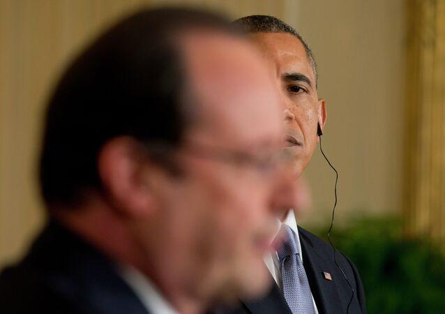 Barack Obama et Francois Hollande