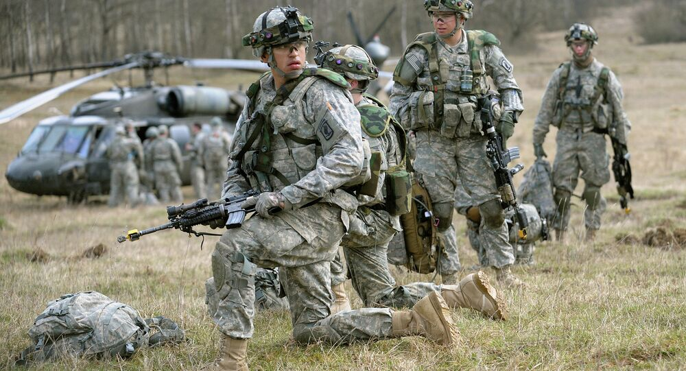 The Pentagon is now openly admitting it will conduct 'war-fighting' training for the Ukrainian National Guard.