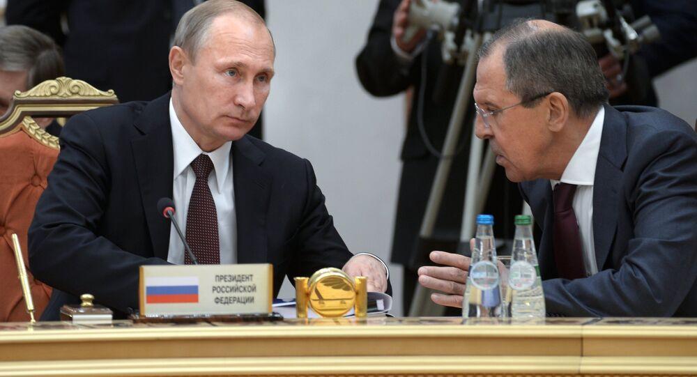 Poutine et Lavrov