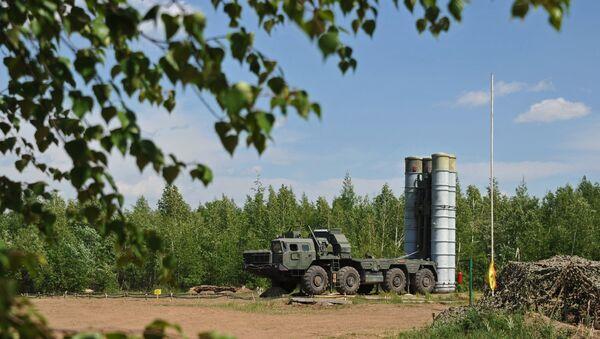 Le champ militaire Telemba dans la Région militaire de l'Est - Sputnik France