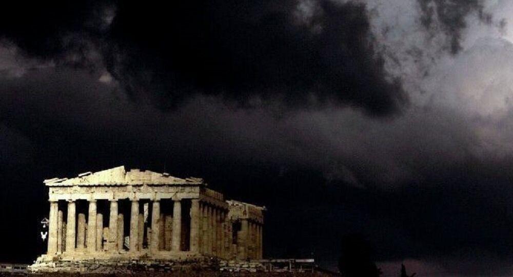 Le Parthénon. Athènes