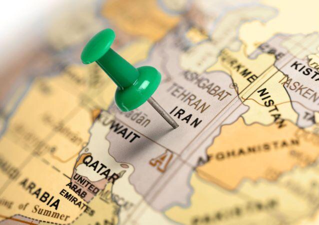 Carte du Proche-Orient