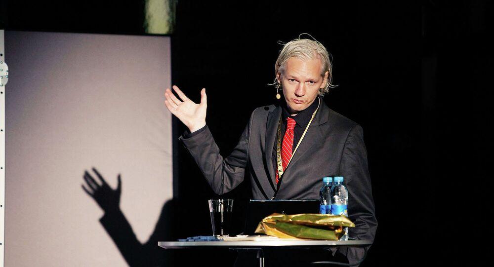 The Subtle Roar of Online Whistle-blowing: Julian Assange