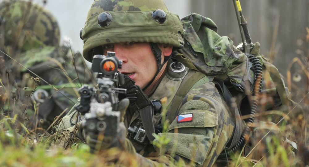 Un soldat tchèque