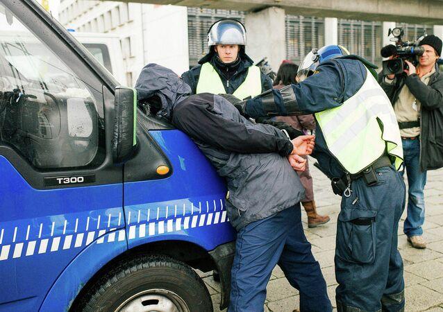 Police au Danemark