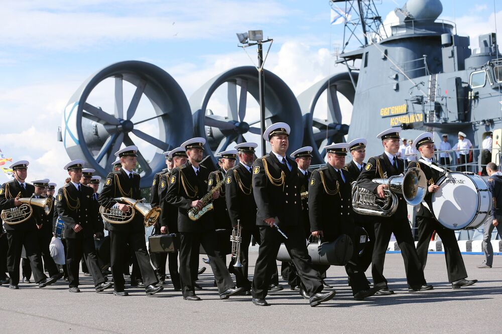 Le Salon naval international de Saint-Pétersbourg