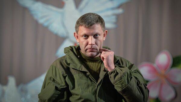 Self-proclaimed Donetsk People's Republic leader Alexander Zakharchenko - Sputnik France