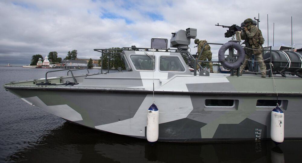 Salon naval international de Saint-Pétersbourg